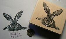 Rabbit, Bunny,  rubber stamp P49C