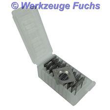 10 Stück HW (HM) Vorschneider Wendeplatten METABO Lackfräse LF 724 S Wendemesser