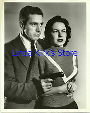 """Vanessa Brown & Lawrence Weber Promo Photograph """"Hollywood Screen Test"""" 1952"""