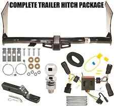 2017-2018 FORD ESCAPE ALL STYLES TRAILER HITCH + WIRING + BALL + MOUNT