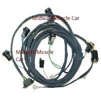 1968-72 pontiac gto lemans dash wiring harness | ebay 1969 pontiac gto wiring diagram