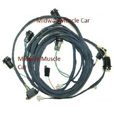 rear body tail light wiring harness 69 Pontiac GTO LeMans Tempest convertible