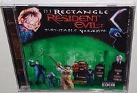DJ RECTANGLE RESIDENT EVIL TURNTABLE APOCALYPSE (2004) NEW SEALED MIX CD