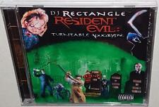DJ RECTANGLE RESIDENT EVIL TURNTABLE APOCALYPSE (2004) NEW SEALED MIX CD