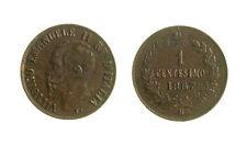 s288_53)  Vittorio Emanuele II (1861-1878)  1 Centesimo Valore 1867 M