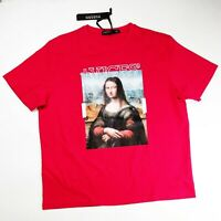 Hudson outwear mens 100% authentic S/S t-shirt size 3XL red Monalisa