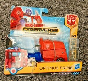New Transformers Cyberverse 1-Step Changer Optimus Prime Nonmint box