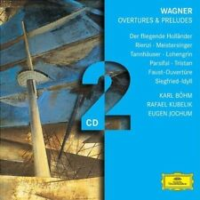 WAGNER: OVERTURES & PRELUDES NEW CD
