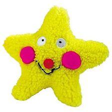 """Zanies ZW38012 Smiling Star Dog Toys- Yellow Star- 7.5"""" NEW"""