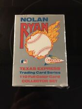 1991 Pacific Ryan Texas Express Collectors Set; 110 Cards; Factory Sealed