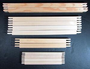 """6x Needlecraft Supplies  Standard & Mini Wood Stretcher Bar Pairs (7""""-14"""")-TN191"""