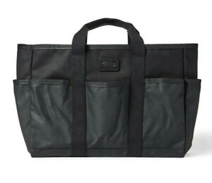 Filson Workshop Utility Tote - NEW - 20117335 Black Bag Carry All Waxed Work