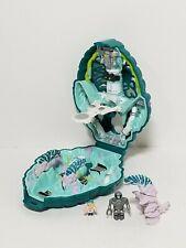 Vintage 1992 Mighty Max Liquidates Ice Alien Doom Zone Playset, 100% Complete