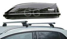 Roof Rack Rail Bars & Thule Ocean Car Top Box | Audi Q7 2006- onwards