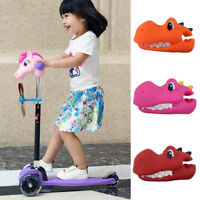 Dinosaur Scooter Toy Head Cover Attachment Children Funny Game Kids Play Gift