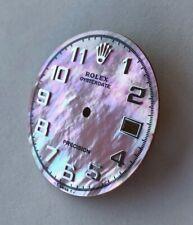 ROLEX OYSTERDATE Precision Zifferblatt *Traumhaft* Perlmutt Pink