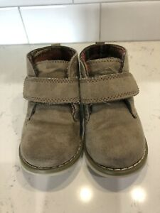 Toddler boy Cherokee Faux suede boots size 7