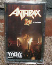 Anthrax Live The Island Years - Anthrax (Cassette 1994, Island) NEW OOP