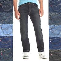 Levi's Boys Youth 514 Slim Straight Regular Husky Fit Denim Jeans Pants