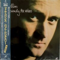 "Phil Collins...But Seriously, The Videos-Laserdisc 12"" NTSC Japan WML5-7020"