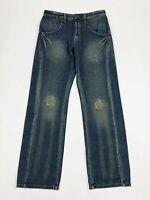 Emporium viri jeans uomo usato W33 tg 47 gamba dritta relaxed boyfriend T6215