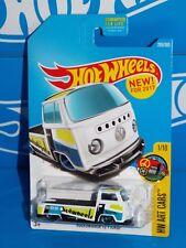 Hot Wheels New For 2017 HW Art Cars Series #295 Volkswagen T2 Pickup White