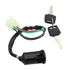 Key Ignition Start Switch 50cc 110cc 125cc 250cc Scooter Pit Bike ATV 4-Wire