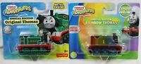 Set of 2: Thomas & Friends Adventures Special Edition Original & Rainbow Thomas