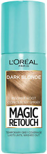 L'Oréal Magic Retouch Women's Instant Root Touch Up Spray, Dark Blonde - 75ml