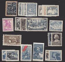 POLAND STAMPS #368 657 — (12) SETS — 1945 -1955 — MINT