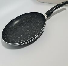 Non Stick Black Frying Pan Deep 18cm For Gas Electric Induction Hob
