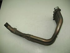 2001 YAMAHA R6 YZFR6 600 HEADER PIPE EXHAUST HEAD PIPE + GOOD FLANGES -VERY NICE