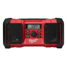 Construction Jobsite Radio Portable Cordless Charger Tool Only Milwaukee M18
