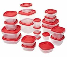Rubbermaid Plastic Food Storage Containers for sale eBay