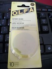 OLFA Genuine Quality 45mm Rotary Cutter Blades 10 Pack - 10 Blades Special Price