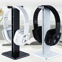 Aluminum Headset Earphone Desk Holder Headphone Display Hanger Stand