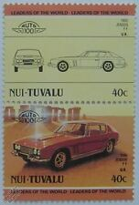 1966 JENSEN FF Car Stamps (Leaders of the World / Auto 100)