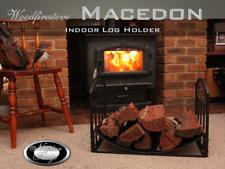 FIREWOOD RACK FIREPLACE ACCESSORIES Indoor Log Rack / Storage WOOD HOLDER  (Mac)