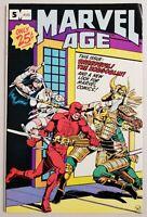 Marvel Age #5 Bronze Age 1983 Marvel Comic Daredevil, Hobglobin