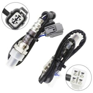 2x Oxygen Sensor for 04/2004-06/2007 Subaru Impreza G11 EJ201 2.0L Pre+Post-Cat