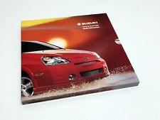 2003 Suzuki XL-7 Grand Vitara Aerio Vitara Press Kit Brochure