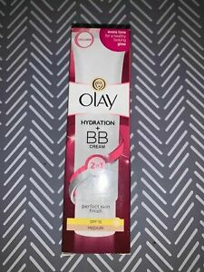 Olay 2in1 Hydration + BB Cream Medium Moisturiser SPF15 50ml