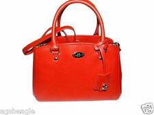 Coach Bag F34835 Crossgrain Mini Margot Carryall Cardinal Red Agsbeagle COD