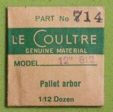 Vintage Jaeger Lecoultre watch 812 pallet arbor vintage Lecoultre part # 714