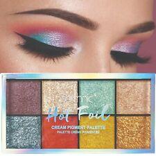 Technic Hot Foil Cream Pigment Eyeshadow Palette Metallic Shimmer Eye Colours