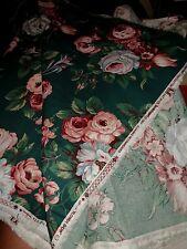 "WAVERLY Collection ""Ivy Lane"" 5 Yards 55"" Fabric 100% Cotton Scotchguard VatDyes"