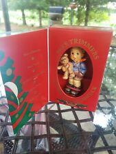 New ListingGoebel Hummel 2074/A/0 Tmk7 Christmas Gift Ornament #1387 Brand New In Box