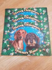 Placemat For Pats Dogs Xmas Dachshund Merry Christmas Dinner Time Plenty Gifts