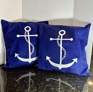 Nautical Throw Pillows For Sale In Stock Ebay