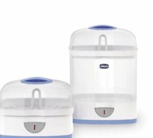 Chicco Dampfsterilisiergerät 2in1Sterilisator Natural Babyflaschen Reiniger